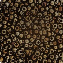 Тохо мъниста 2мм искрящ лешников металик (10г)