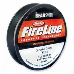 Нишка за дребни мъниста Fireline графит 0,20мм (1бр)