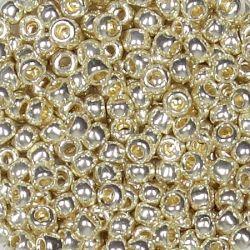 Тохо мъниста 3мм галванизирано сребро (10г)