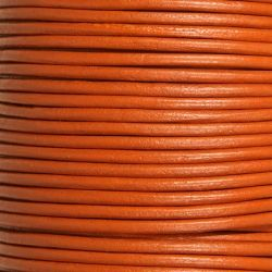Кожен шнур, цвят канела 2мм ( 1м)