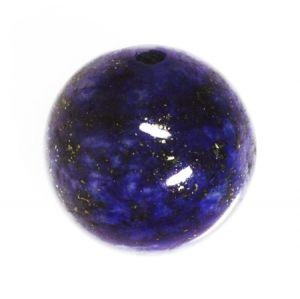 Полускъпоценни камъни - кръгло мънисто от лапис лазули 10мм (8бр)