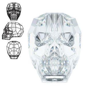 Сваровски мъниста - черепче 13х10мм (1бр)
